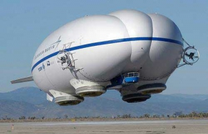 Air cargo world hottest advance - Lockheed Martin's Crossbreed Airship